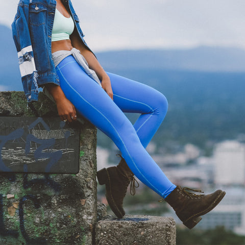 Go Long Legging, Cobalt - Albion - 1