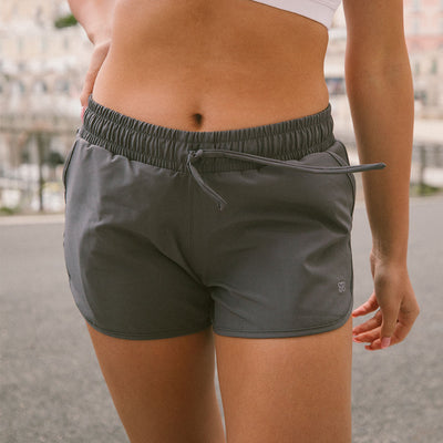 Cobblestone Grey Sprinter Shorts