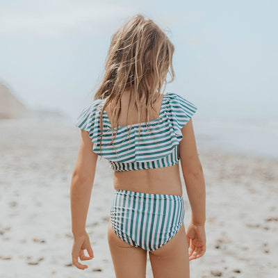 Mini Wave Two-Piece Set, Darling Stripe