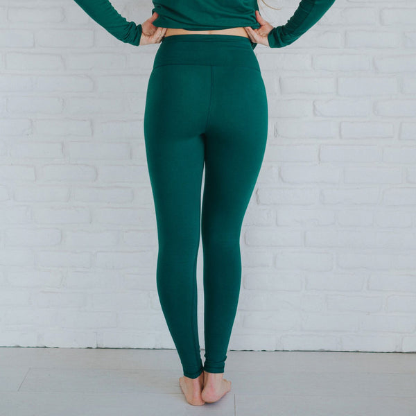 High-Waisted Evergreen Leggings - Albion - 2