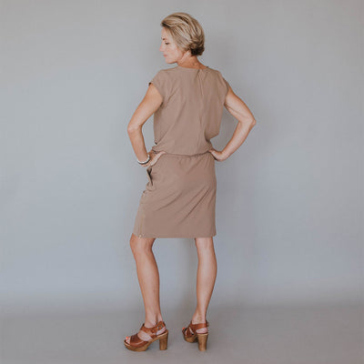 Khaki Going Places Dress