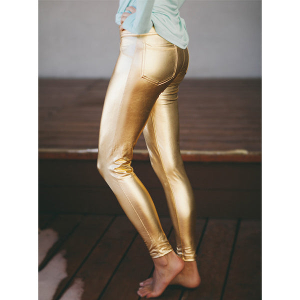 Stay Gold Leggings - Albion - 3