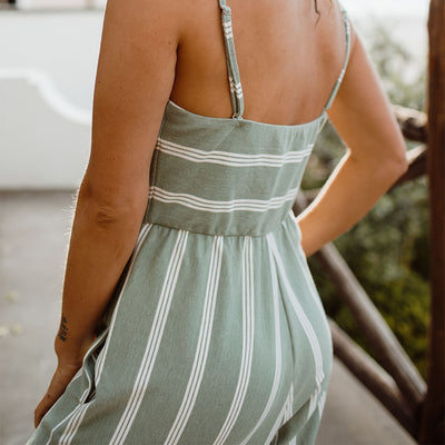 Positano Jumpsuit, Green