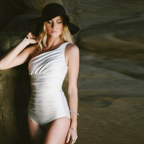 Icon Swimsuit, Ivory - Albion - 1