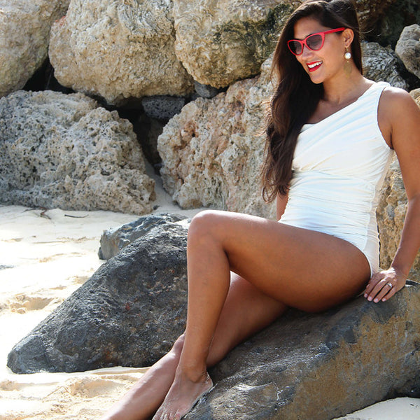 Icon Swimsuit, Ivory - Albion - 4