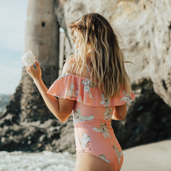 The Wave, Sunset One-Piece Swimsuit