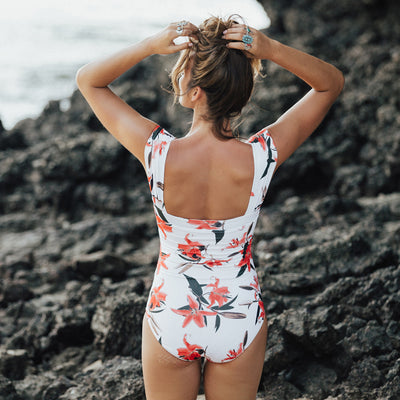 Women's Off Shoulder One-Piece