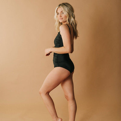 Ballerina One-Piece, Matte Black