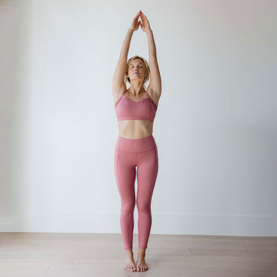Intention Flow Leggings, Mauve