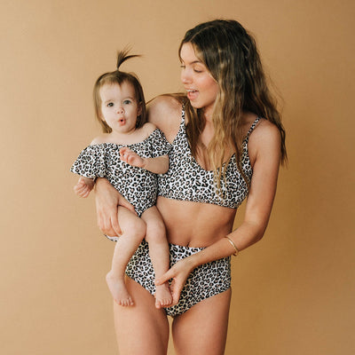 Mini Wave One-Piece, Cheetah