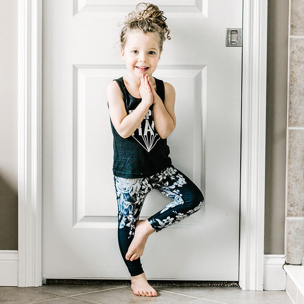 Mini Antigua Slate Leggings - Albion - 4