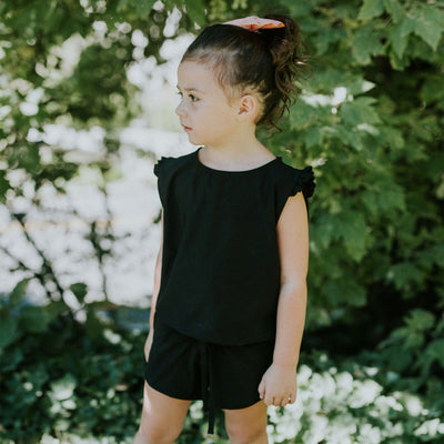 Mini Black Romper - Albion - 4