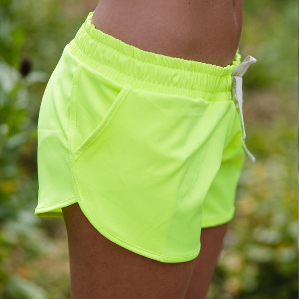 Electric Green Sprinter Shorts - Albion - 3