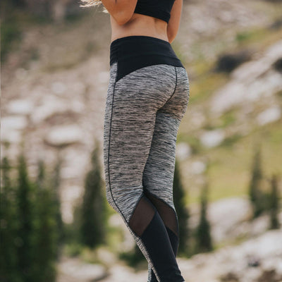 Mesh Tech Leggings - Albion - 1