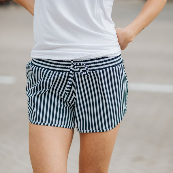 Pana Stripe Sprinter Shorts