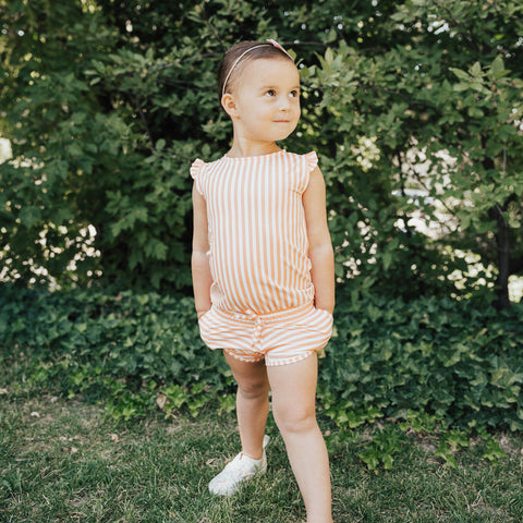 Mini Peachy Keen Romper