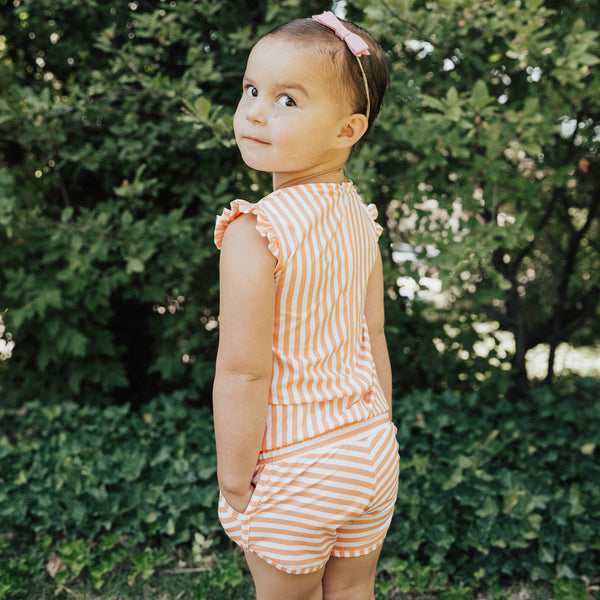 Girls Peachy Keen Romper