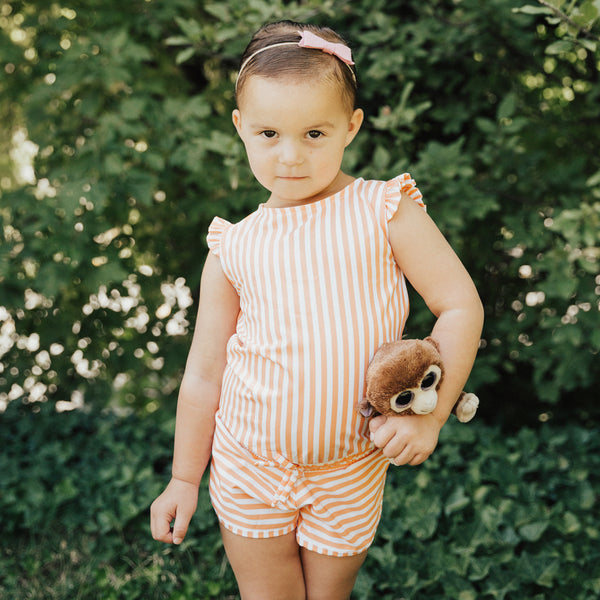Mini Romper Peachy Keen