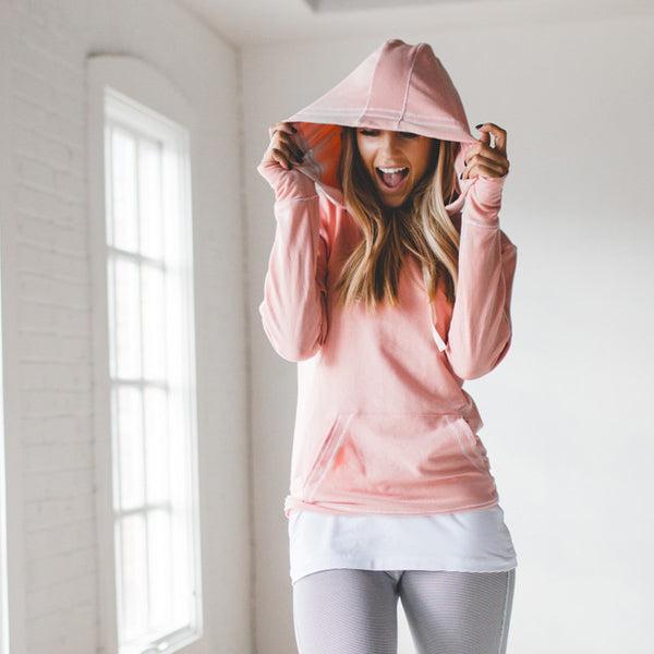 Signature Hoodie, Ballet Pink - Albion - 1