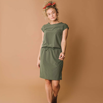 Sage Going Places Dress