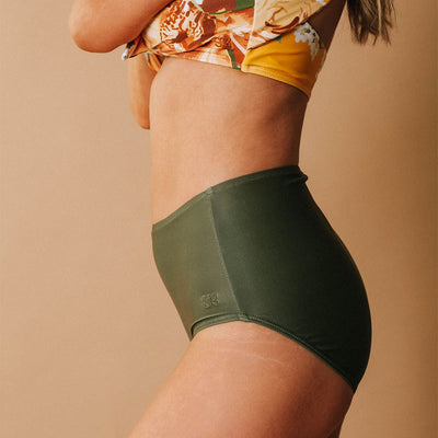 Sage High-Waisted Bottoms