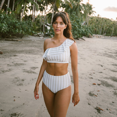 Icon Wave Crop, Sandy Stripe