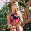 The Lei Switchback Swim Crop