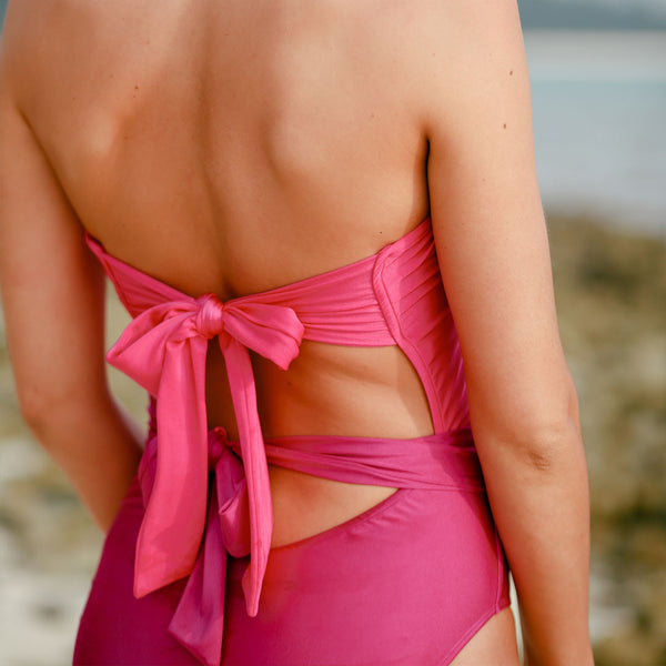 The Sunseeker Cut-Out One Piece Swimsuit