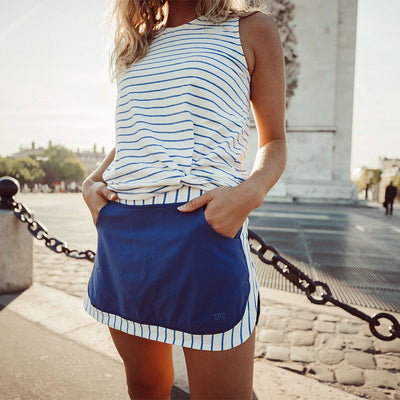 On The Line Tennis Skirt