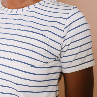 Basic Tee, Venice Stripe
