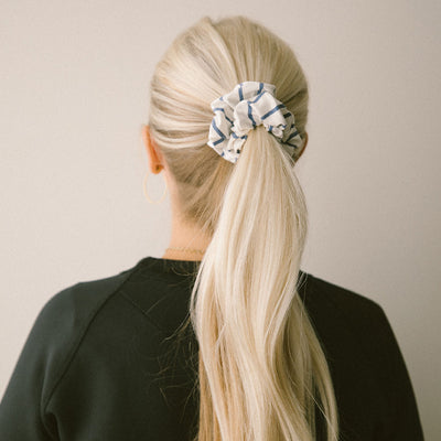 Venice Stripe Scrunchie