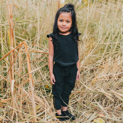 Albion Mini Black Jumpsuit