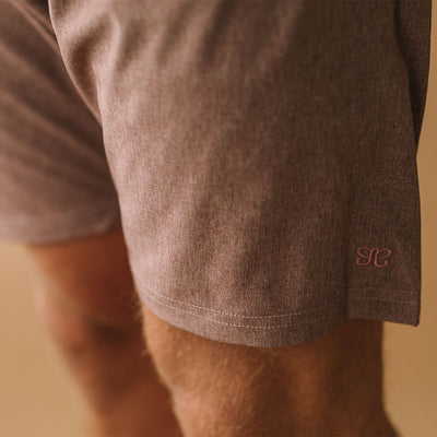 Wind and Sea Shorts, Heather Maroon