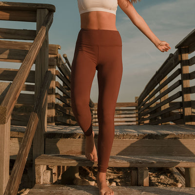 Go Soft High-Waisted Legging, Wine