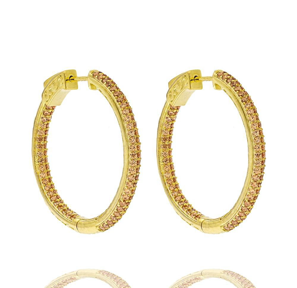 jewelry hoop bling silver gold pave sls earrings sterling huggie cz earring wide