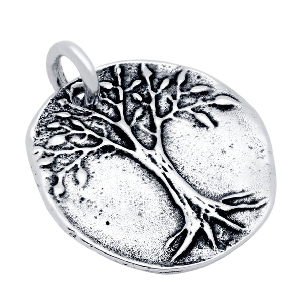 ZDC1307-TREE OF LIFE MEDALLION CHARM