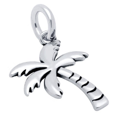 ZDC1380  SMALL PALM TREE CHARM