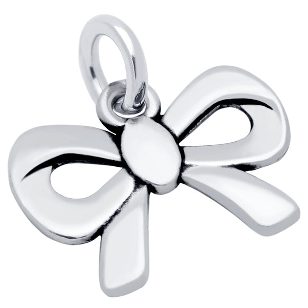 ZDC1347  RIBBON BOW CHARM