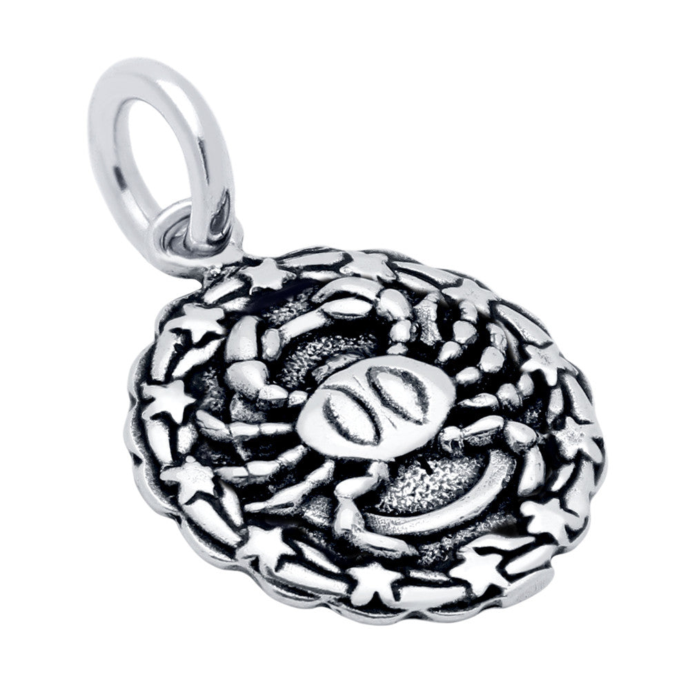 ZDC1218-CAN  CANCER ZODIAC CHARM