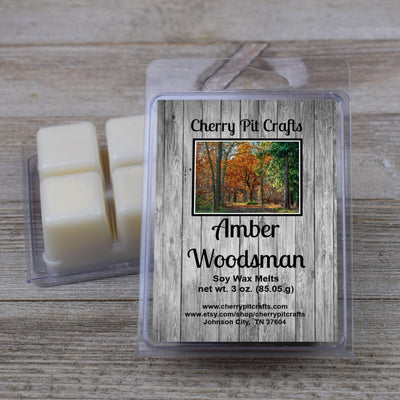 Amber Woodsman Soy Wax Melts