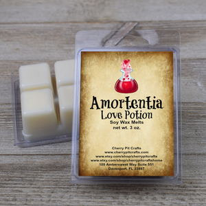 Amortentia Love Potion Harry Potter Themed Soy Wax Melts