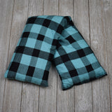 Cherry Pit Heating Pad - Angel Blue Check