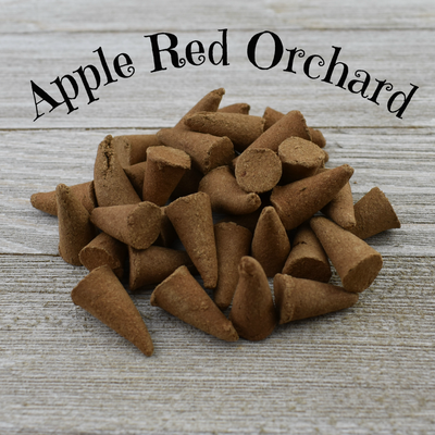 Apple Red Orchard Incense Cones - Cherry Pit Crafts