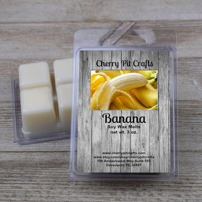 Banana Soy Wax Melts