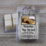 Banana Nut Bread Soy Wax Melts - Cherry Pit Crafts