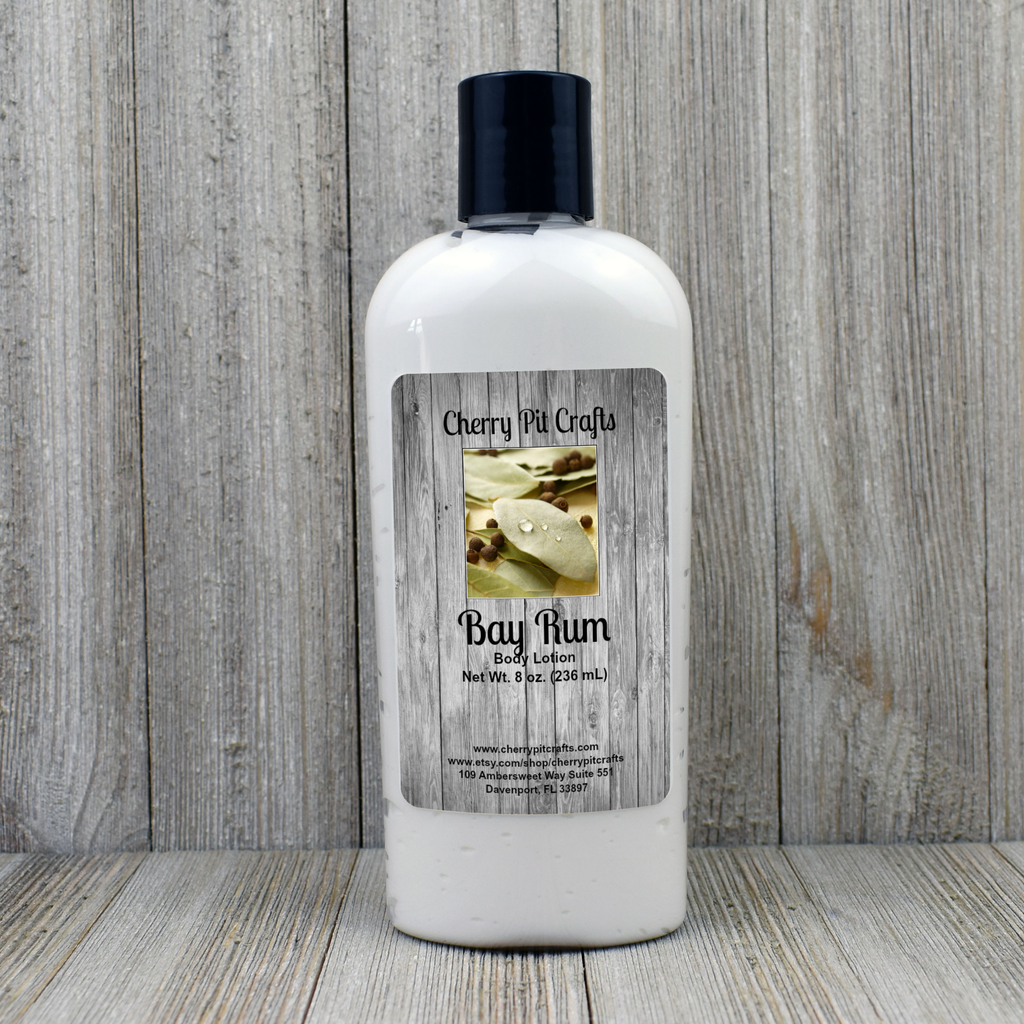 Bay Rum Body Lotion