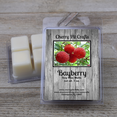 Bayberry Soy Wax Melts - Cherry Pit Crafts