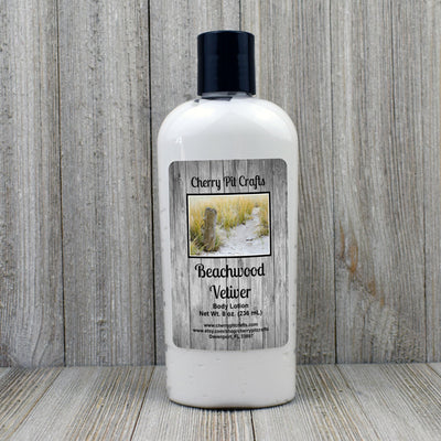 Beachwood Vetiver Body Lotion - Cherry Pit Crafts