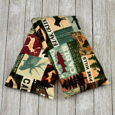 Cherry Pit Heating Pad - Bear Creek Cabin Patch - Cherry Pit Crafts