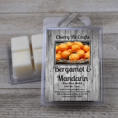 Bergamot & Mandarin Soy Wax Melts